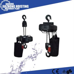 China Manufacturer Competive Price 1ton Stage Chain Hoist pictures & photos