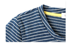 Phoebee Fashion Blue and White Striped Kids T-Shirts for Boys pictures & photos