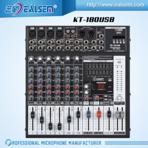 Mixer USB Interface Module LED Display Mixing Console