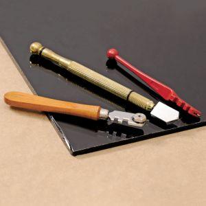 Single Wheel Zinc Alloy Handle Carbide Bit Plate Glass Cutter pictures & photos