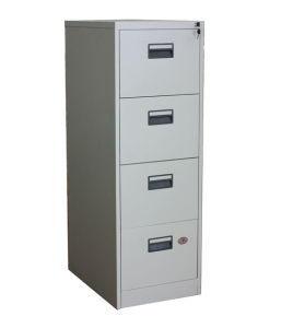 Steel Iron Metal 4 Drawer Vertical Office Filing Cabinet (NS-ST022) pictures & photos