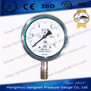 10MPa General Pressure Gauge with Steel Case pictures & photos
