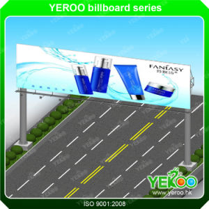 Outdoor Digital Signage Steel Pole Advertising Billboard pictures & photos