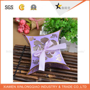 Customzied Luxury Pillow Box Scarf Packaging Box with Your Design pictures & photos