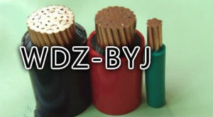 Lsoh Flame Retardant XLPE Insulated Non-Sheathed Copper Wire Wdz-Byj
