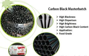 PE/LDPE/LLDPE/HDPE 20%~50% Carbon Black Masterbatch Price /Plastic Pellets / Masterbatch pictures & photos