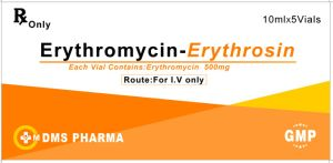 Erythromycin for Human Pharmaceutical Antibiotic 500mg/Vial Slovent pictures & photos