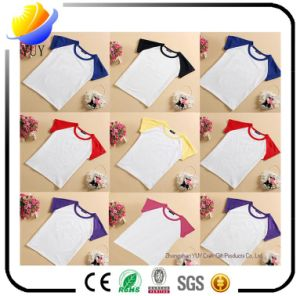 Colorful and High Quality 100% Cotton Made of T Shirt and Children T Shirt and Sports Shirt and Pole Shirt for Clothing and Promotional Products pictures & photos
