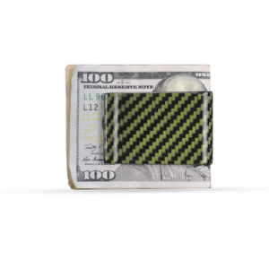 Various Color Fashion Attractive Aramid Fiber Cash Clip Kavlar Clamp Holder pictures & photos