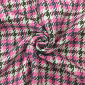 Twill and Check Wool Fabric Overcoat pictures & photos