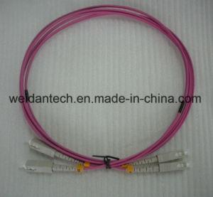Sc-Sc Multimode mm Duplex Dx Om3 50/125u 3.0mm Fiber Optic Cable pictures & photos