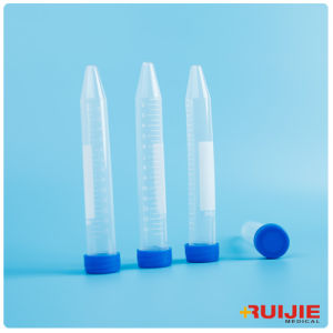Centrifuge Tube with Screw Cap Conical Bottom pictures & photos