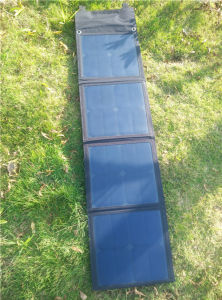 50W Solar Foldable Charger with Four Colors and Light Efficiance pictures & photos