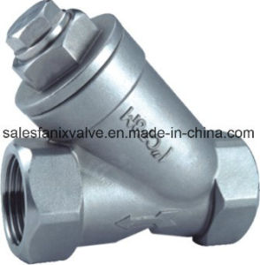Y-Type Female Strainer (with end cap plug) pictures & photos