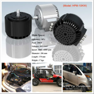 48V 10kw Electric Car Motor Drive Kit with Air Cooled System. pictures & photos