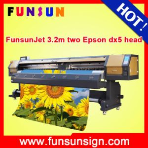 Funsunjet Fs-3202g 10FT Wide Format Solvent Outdoor Printer (DX5 head for canvas printer and vinyl printer) pictures & photos