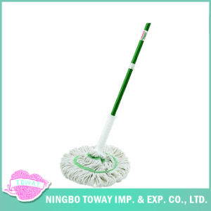 Round Cloth Super Soft Cleaning Best Wet Floor Mop pictures & photos