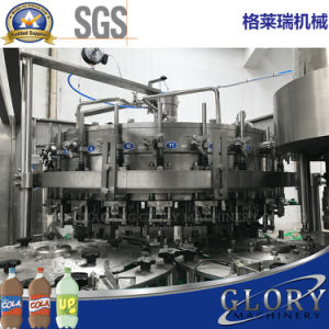 2000bph Automatic Soda Water Bottling Machine Cost pictures & photos