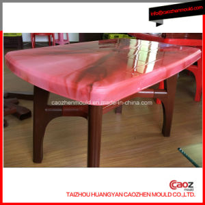 Plastic/Injected Dining Table Mold with Good Quality pictures & photos