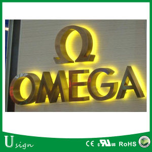 2017 Popular LED Frontlit Channel Letter Signs, Decorative Metal LED Alphabet Letters pictures & photos
