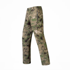 Hot Sale Tactical Soft Shell Combat Hiking Pants pictures & photos