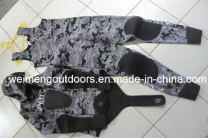 High Quality Heiwa Sheico Yamamoto Neoprene Camo Style Open Cell Freediving Spearfishing Wetsuit with Adhesive., 01