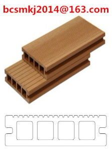 New Welcome WPC Decking Long Life Recycled Wood Plastic Flooring pictures & photos