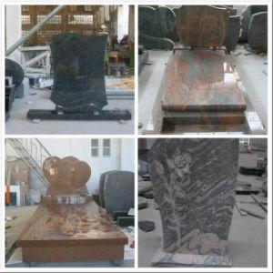 European Style Black Granite Tombstone pictures & photos