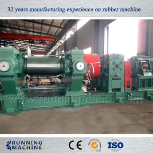 18inch Open Mill, Two Roll Rubber Open Mixing Mill pictures & photos