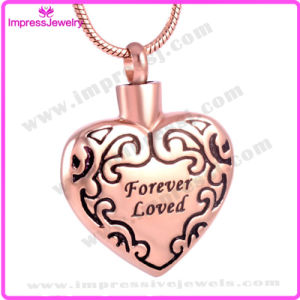 """Forever Loved"" Heart Ashes Keepsake Holder Pendant Necklace for One (IJD8490) pictures & photos"