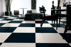 Super Black Polished Tiles pictures & photos