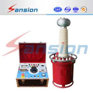 Manual Controlled AC/DC Hipot Test Set for High Voltage Supply pictures & photos