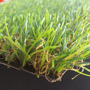 Four Colours 25mm PE Synthetic Turf Grass for Landscaping and Garden Outdoor pictures & photos