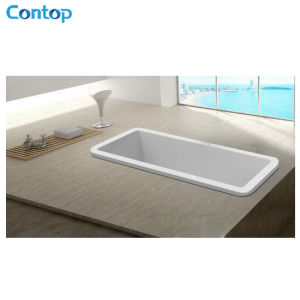 Competive Price Bathroom Accessories Acrylic Insert Bathtub pictures & photos