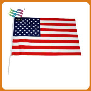 Custom Logo Advertising Election Campaign Country Hand Flag pictures & photos