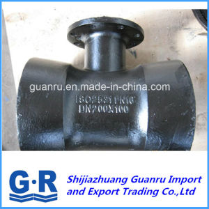Ductile Iron Fitting with Flange on Socket Tee pictures & photos