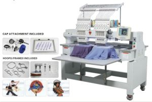 2 Head High Speed Computerized Embroidery Machine pictures & photos