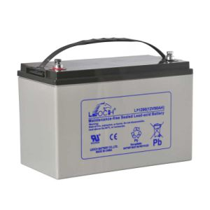 Leoch 12V 90ah UPS Battery Telecom Battery Solar Battery pictures & photos