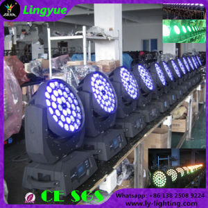 Stage Light 36X18W RGBWA UV 6in1 DMX Moving Head LED pictures & photos