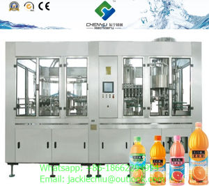 Juice Washing Filling Capping 3in1 Monobloc pictures & photos