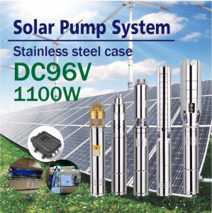 DC 96V Solar Water Pump Input Power 1100W pictures & photos