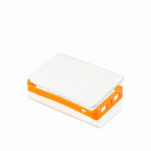 New Portable Leather Power Bank 4000mAh for Smart Phones 2 USB Ports pictures & photos