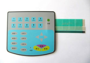 Waterproof Flat LED Metal Dome Membrane Switch Keyboard for Electronic Scale pictures & photos