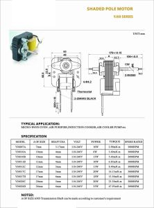 Shaded Motor for Dried Vegetables Machine pictures & photos