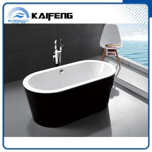 Cupc Modern Black Freestanding Acrylic Bathtub (KF-715K) pictures & photos