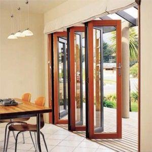 Aluminum Folding Door Design Interior Glass Bifold Doors pictures & photos