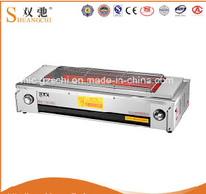 Smokeless Barbecue Stove with Fan Gas BBQ Grill 0086-13926161435 pictures & photos
