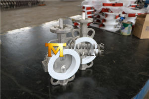 Stainless Steel Bare Shaft Wafer Butterfly Valve pictures & photos