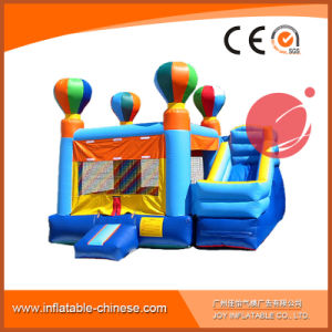 Outdoor Commercial Balloon Theme Inflatable Combo Castle with Slide (T3-112) pictures & photos