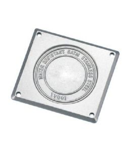 High Quality Rectangle Case Back Watch Parts pictures & photos